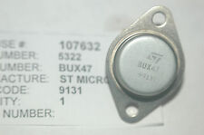 ST MICRO BUX47 Power Transistor Metal Case TO-3 New Lot Quantity-1