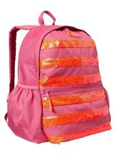GAP Kids Girls School Backpack Weekend Travel Book Bag in Shocking Pink NEW