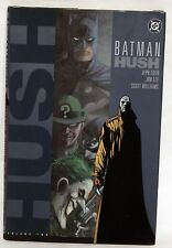 Batman: hush vol. 2 (2003) couverture rigide 1st édition rare 761941239224