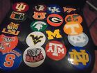 4 INCH NCAA COLLEGE CORNHOLE AUTO WINDOW VINYL COATED DECALS UV PROTECTED