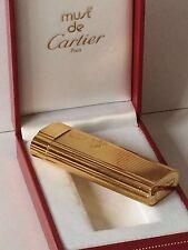 Must de Cartier Feuerzeug Top Zustand