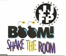 JAZZY JEFF & FRESH PRINCE Boom Shake the Room 7TRX MIXES& INSTRUMENTAL CD single