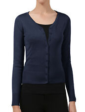NE PEOPLE Womens Light Weight soft See-Through V Neck Cardigan Sweater NEWJ90