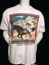 Museum of the Horse Down to Earth Products Vintage 100% Cotton U.S.A. T Shirt L