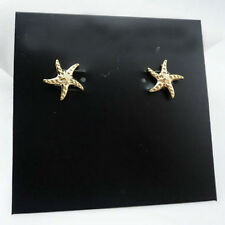 Gold/Silver Logo sea star  Stud  Brand Earrings