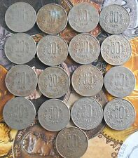 17 Coins MINT SET - 1984 1985 1986 1987 1988 1989 1990 -  50 Paise Copper Nickel