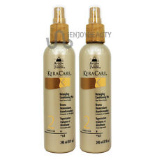 "Avlon Keracare Detangling Conditioning Mist 8oz ""Pack of 2"" Free Roll Body Oil"