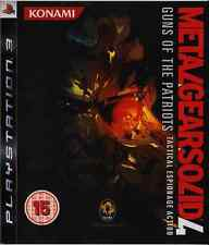 Metal Gear Solid 4 : Guns of the Patriots - Jeu Playstation 3 [PS3]