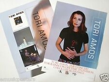 "TORI AMOS ""THE CONCERT FOR RAINN ON LIFETIME"" 2-SIDED CANADA PROMO POSTER"