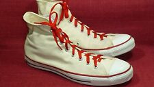 "Converse Vintage & Rare ""MADE IN USA"" Off-White Men's Sneakers Size 13 EUC"