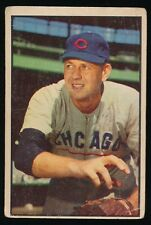1953 Bowman Color Baseball -#110 BOB RUSH (Chicago Cubs)