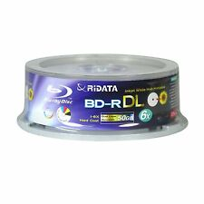 100pack BLU RAY DISC 50GB 6X WHITE INKJET PRINTABLE  BD-R DL