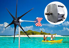 Patriot 1600 W WindZilla PMA 12V DC 6 Blade Wind Turbine Generator kit+Rectifier