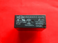 894H-2CH1-F-C, 12VDC Relay, SONG CHUAN Brand New!!
