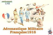 EDUARD 8511 WWI Aeronautique Militaire Francaise 1916 Figuren in 1:48