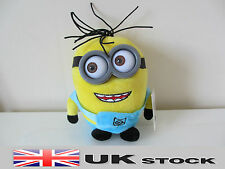 17cm/7'' Despicable Me Minion Plush Toy Minions 3D Eyes Stuffed Doll UK SELLER