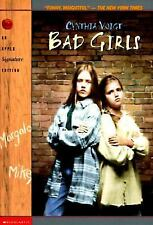 Bad Girls by Cynthia Voigt (1997, Paperback) S7757