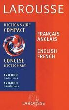 Larousse Concise French/English English/French Dictionary (Larousse Bilingual D