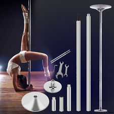 45mm Portable Dance Pole Kit Flexible Fitness Stripper Exercise Spinning 440lbs