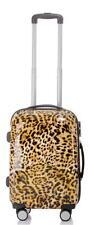 Carbon Hartschalen Reise Koffer Trolley Handgepäck Gr.M - BB Retro Style Leo