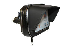 "5"" SUNSHADE GPS SATNAV CASE MOTORCYCLE MOTORBIKE 1"" RAM SOCKET WATERPROOF 5 INCH"