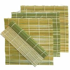 5pc Sushi Bamboo Rolling Mat 9.5 Inches S-3701