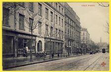 cpa 75 PARIS École des SOEURS Avenue PARMENTIER MERCERIE LINGERIE Maison KREMER