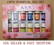 12pcs Set Aromatherapy Essential Oil 12 Kind  Natural Remedy Fragrance