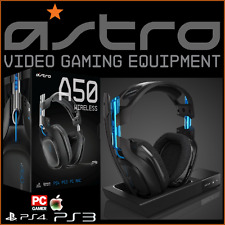 Nuovo di Zecca ASTRO A50 Wireless 7.1 Gaming Headset PS4 PS3 PC MAC + Stazione Base UK