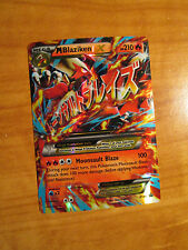 EX Mega M BLAZIKEN Pokemon Card PROMO Black Star XY86 Set Ultra Rare Premium Box