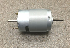 Mabuchi 12V DC Motor 2100-2900 rpm DUAL SHAFT hobbies RC CARS, Propellers, NEW