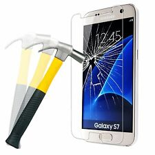 Premium Genuine Tempered Glass Film LCD Screen Protector For Samsung Galaxy S7