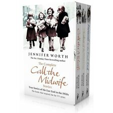 Jennifer Worth Collection 3 Books Set Call The Midwife, Shadows Of The Workhouse