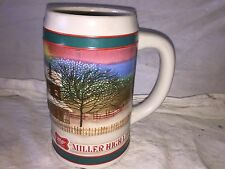 Vintage Miller High Life Beer Stein/ Beer Mug Holiday Traditions store#B2