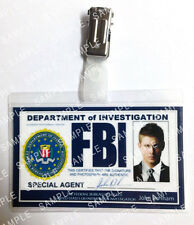 Supernatural Dean Winchester FBI ID Badge Cosplay Prop Gift Costume Comic Con