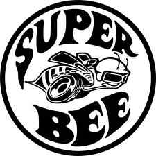 "Dodge Super Bee Car Bumper Sticker 5"" x 5"""