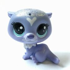 Rare Littlest Pet Shop #177 Indigo Otterson LPS mini Cat Animals Hot gifts HA147