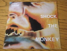 "PETER GABRIEL - SHOCK THE MONKEY   7"" VINYL PS"