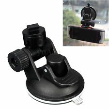 T Type Car Video Recorder Suction Cup Mount Bracket Holder Black for Dash Camera