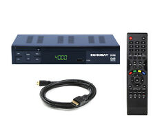 Digitaler Sat Receiver HD UND SCART Satelliten-Receiver USB HDMI Free-TV DVB-S2