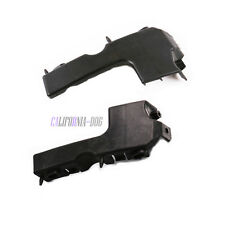 Pair Front Left Right Bumper Bracket Support Guide For Audi A4 B7 S4 RS4 Quattro