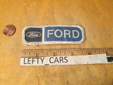 FORD FORD CLOTH SMALL PATCH - SEW ON TYPE