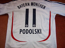 2006 2007 Bayern Munich Podolski Football Shirt Adults Large Trikot