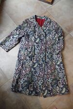 Vintage  tapestry  3/4 Length 3/4 sleeve Jacket Coat L/XL
