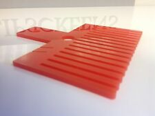 Crafting Bow maker,double bow maker,Red 15.5cm wide 9cm deep,made in the uk, New