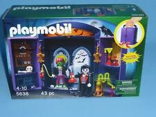 Playmobil Haunted House 5638 Take Along  FRANKENSTEIN Lab RARE NEW