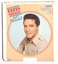 Vintage CED Video Disc G.I. BLUES (1981) Elvis Presley Selectavision