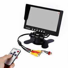 7 inch TFT LCD Monitor HD 800x480 FPV Display for RC Quadcopter Car Model Camera