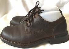 Timberland Torrance Smart Comfort Brown Leather Waterproof Shoes Mens Boys  7.5