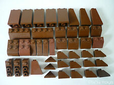 LEGO / x 43 Brown Brick Slope